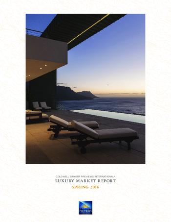 Luxury market report- Spring 2016