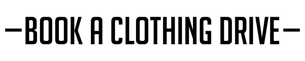 Book a clothing drive
