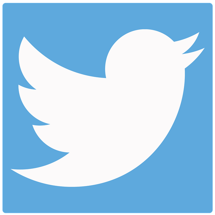 Twitter logo. Links to Community Living Twitter.