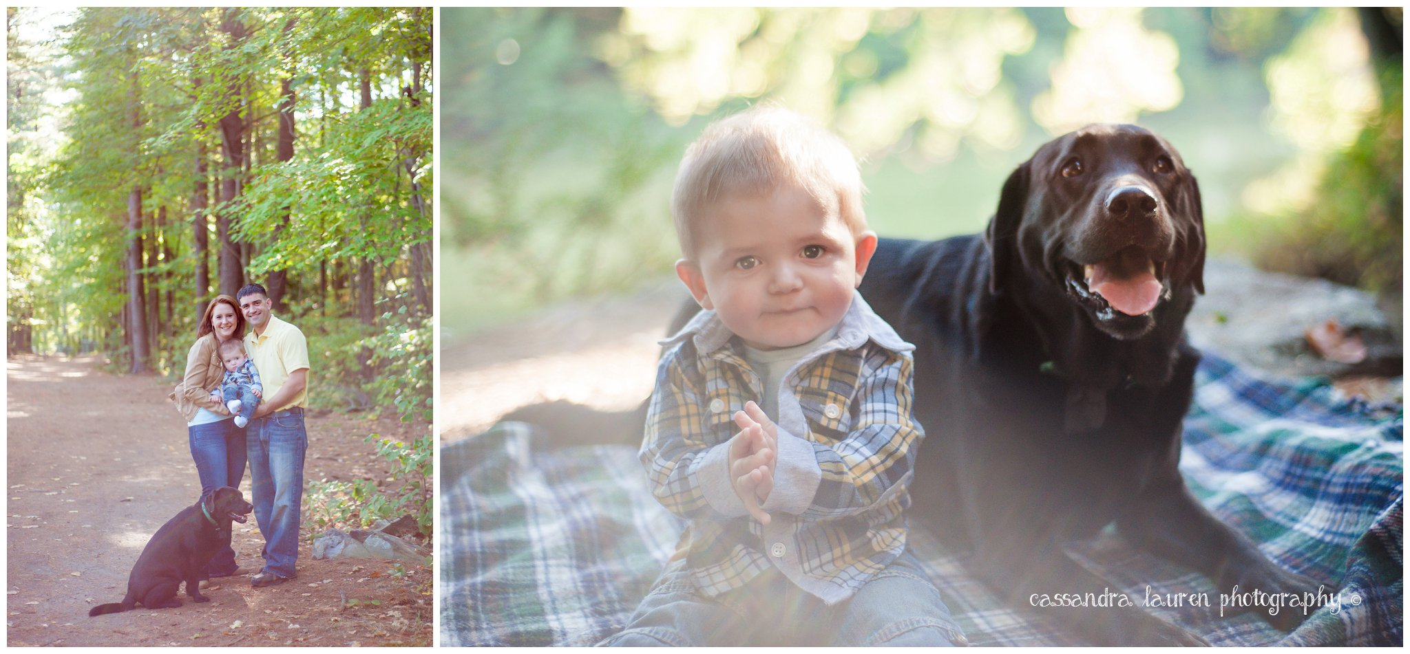 Nashua NH fall family pictures