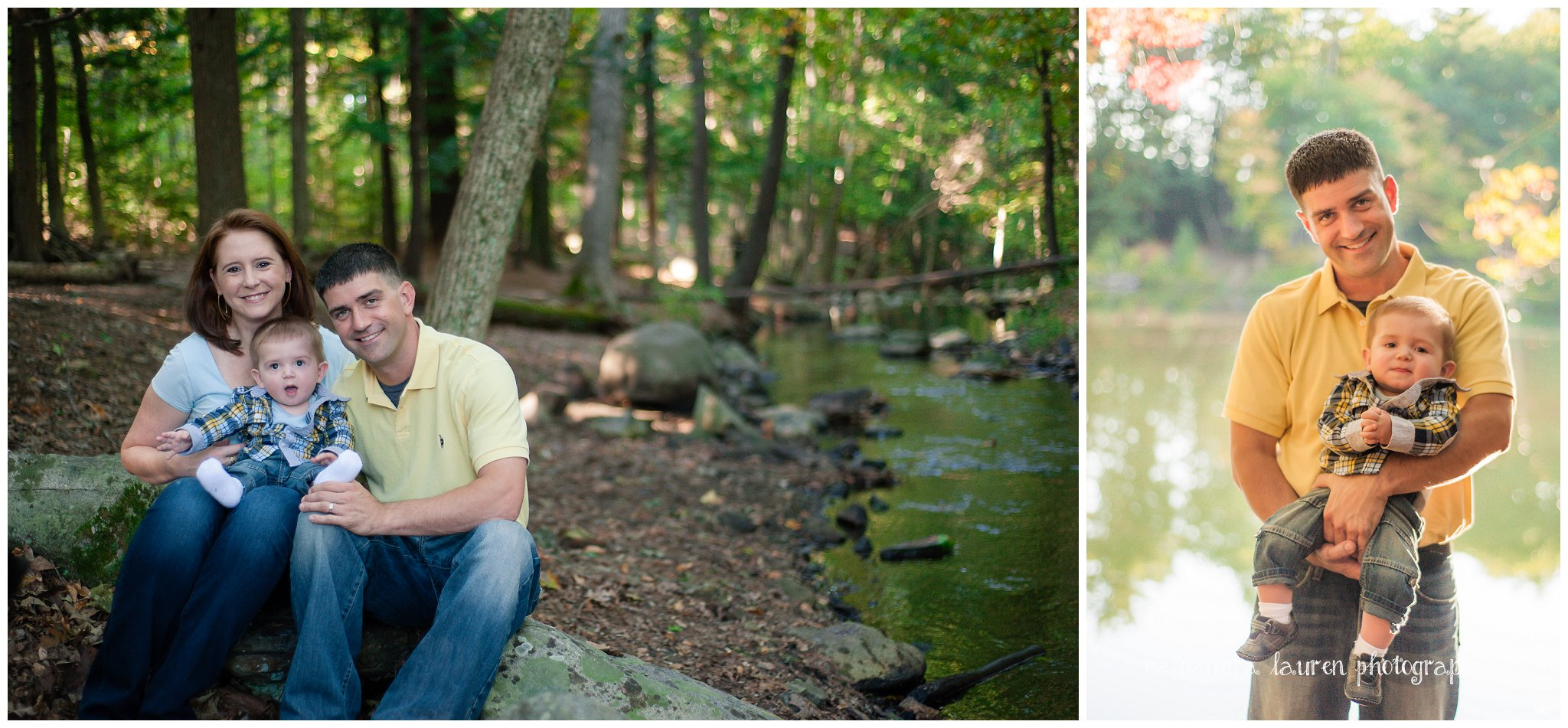 Northshore MA fall family portraits
