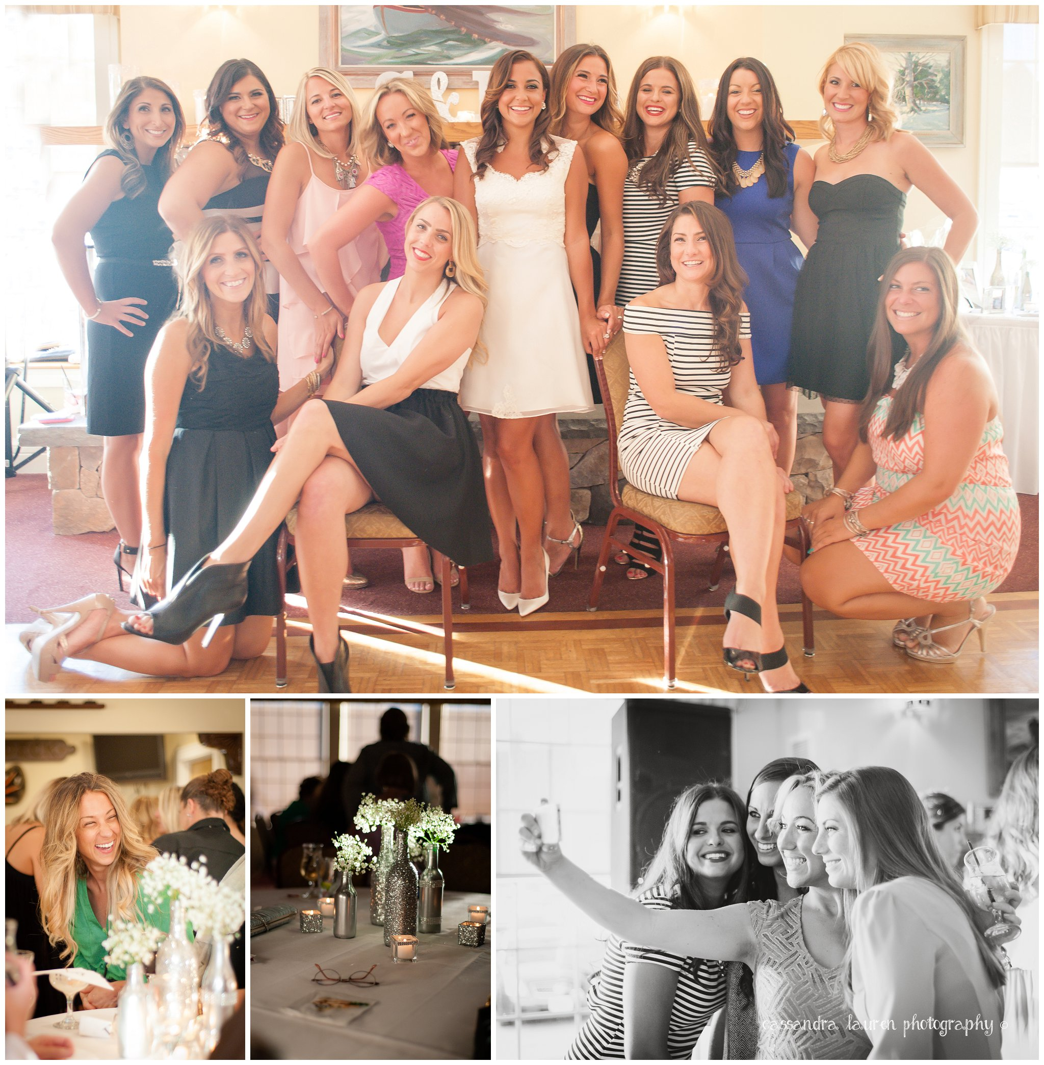 Stylish Bridal Party Bridal Shower Gloucester MA