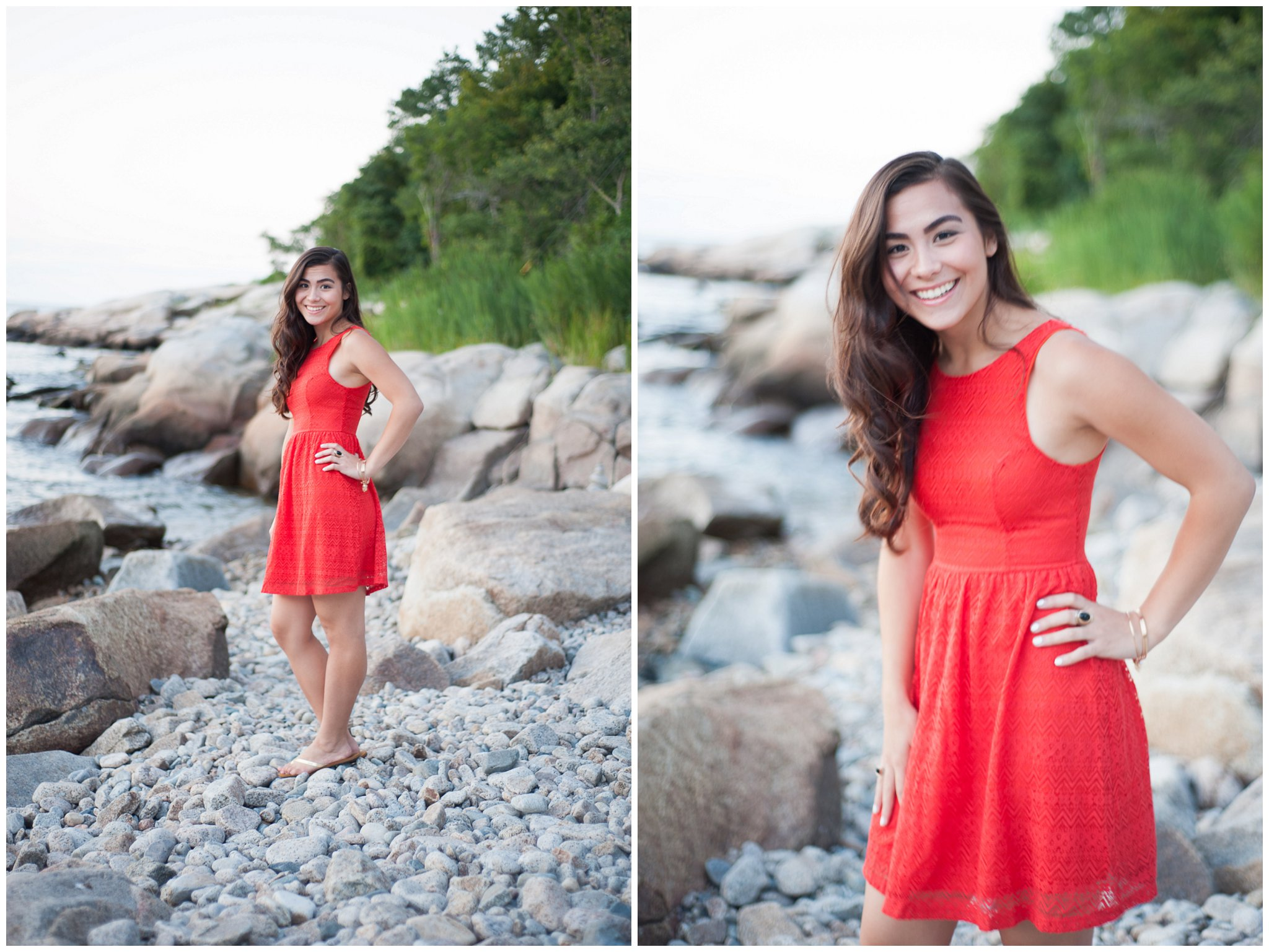 Classic Coastal New England HS Senior Portrait Photographer Massachusetts