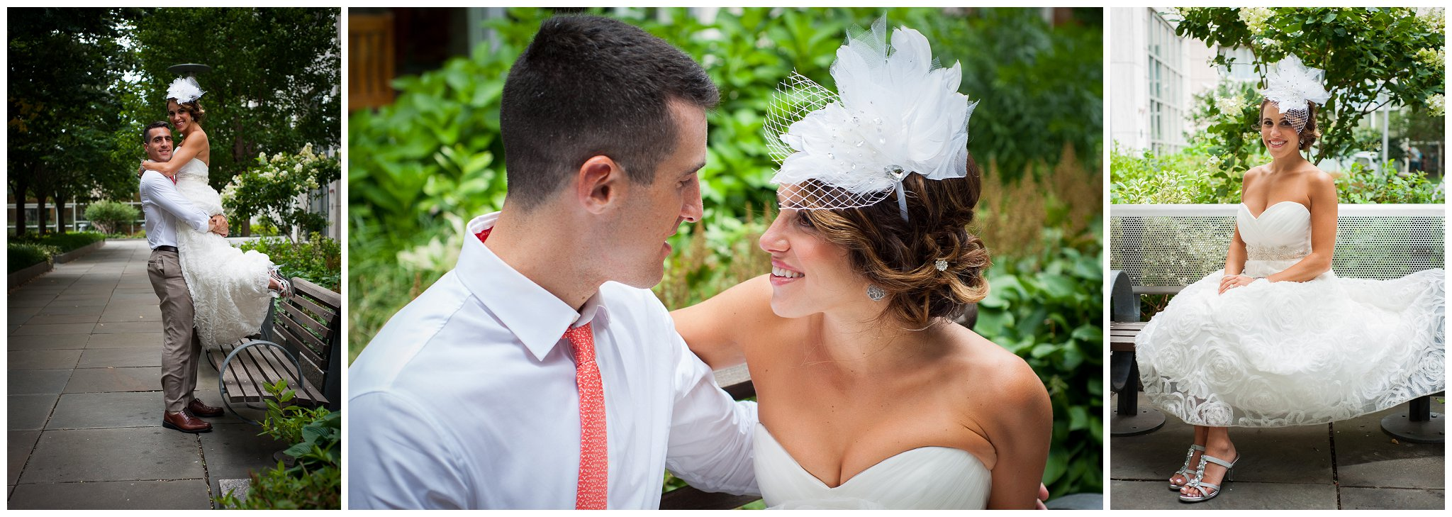 Garden Bridal Portraits Boston MA wedding photographer