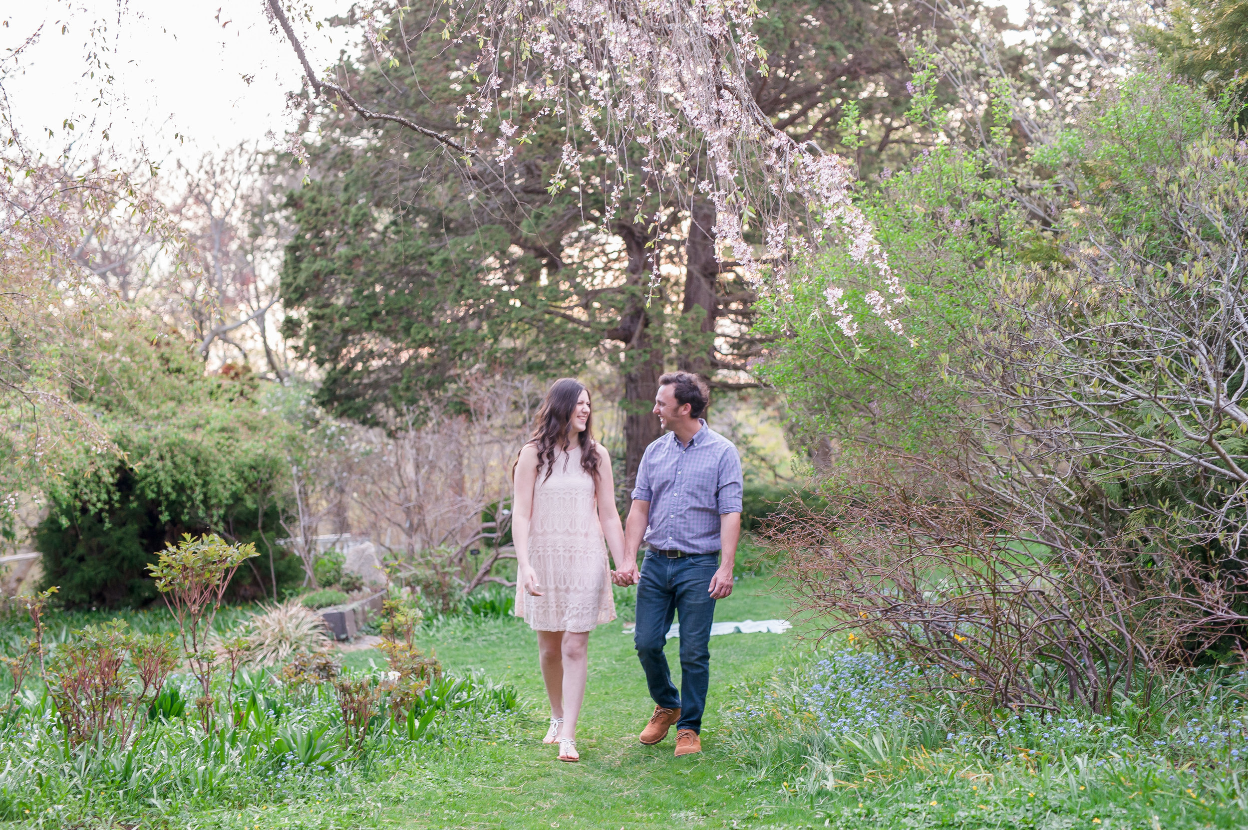 Sean and Nicole Beverly spring blossom engagement-51.jpg