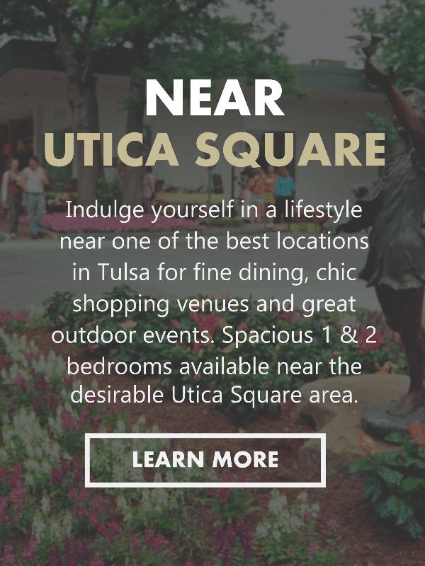 Apartments in Tulsa Near Utica Sqaure