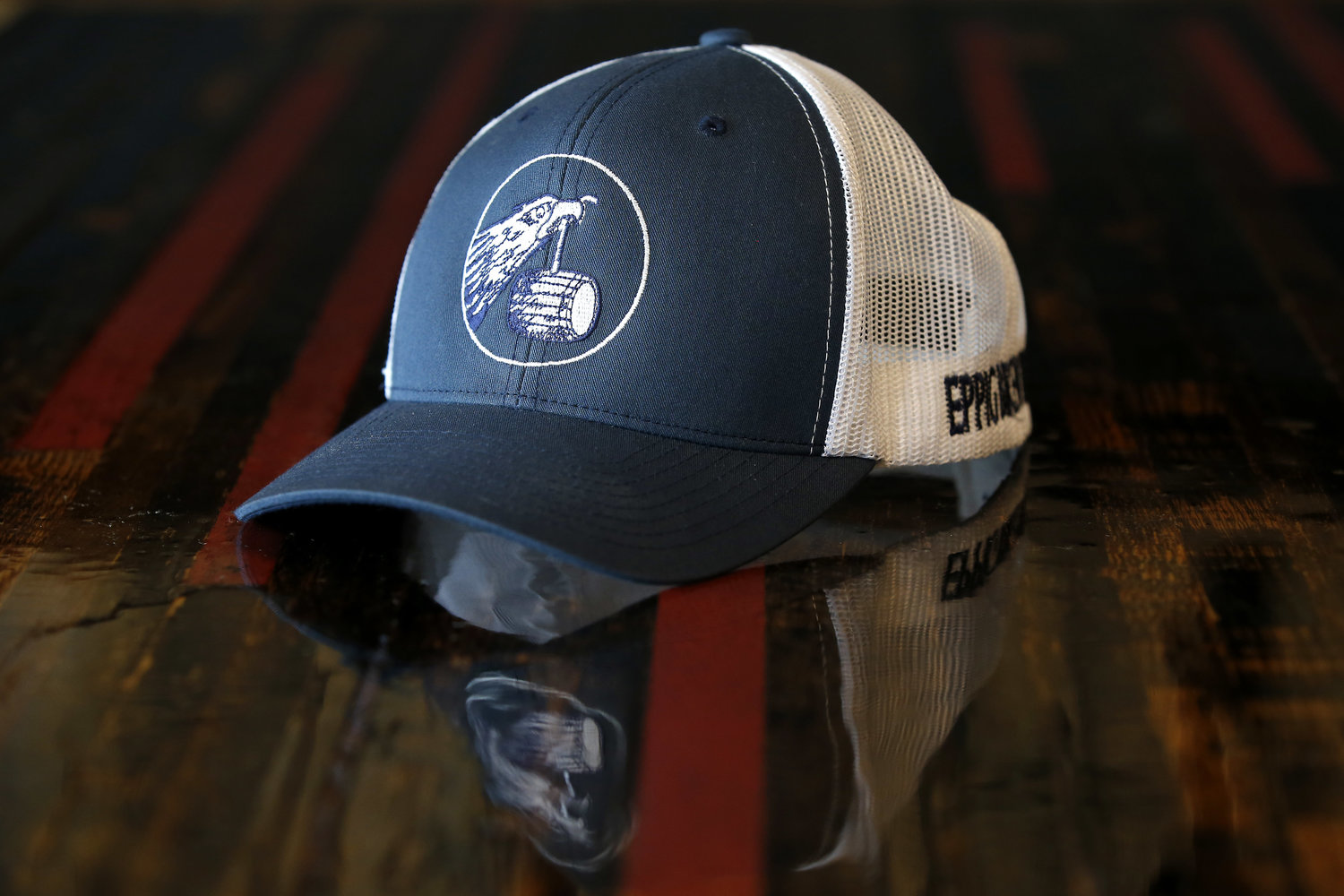 3aa5a58235822a Vintage Eagle Trucker Hat- Navy/ White — EPPIG BREWING