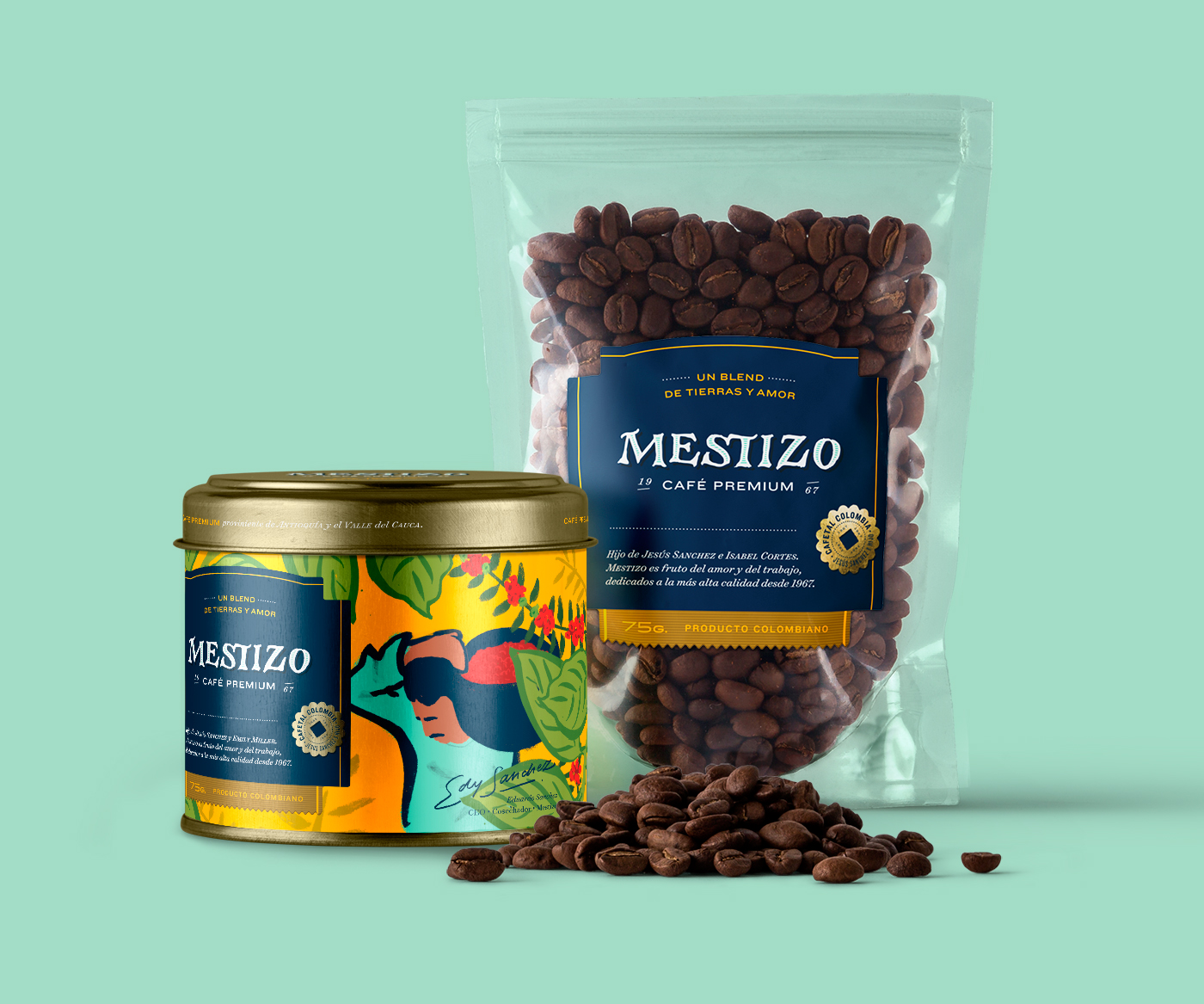 Mestizo packaging