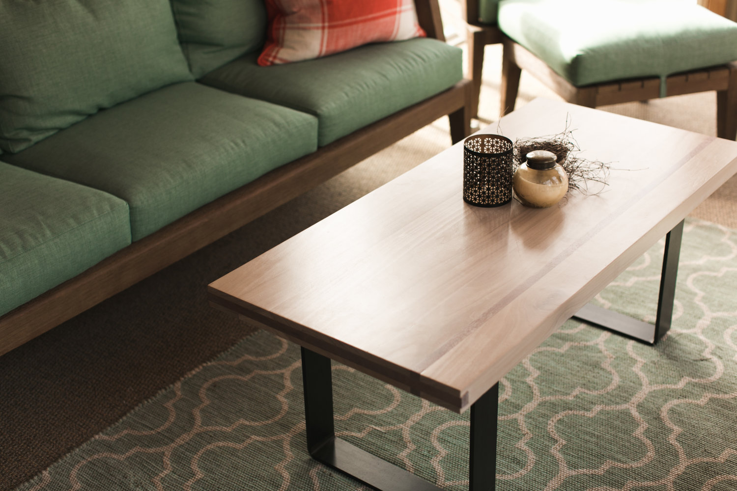 """Gather Table Co - Coffee Table """"Blonde"""""""