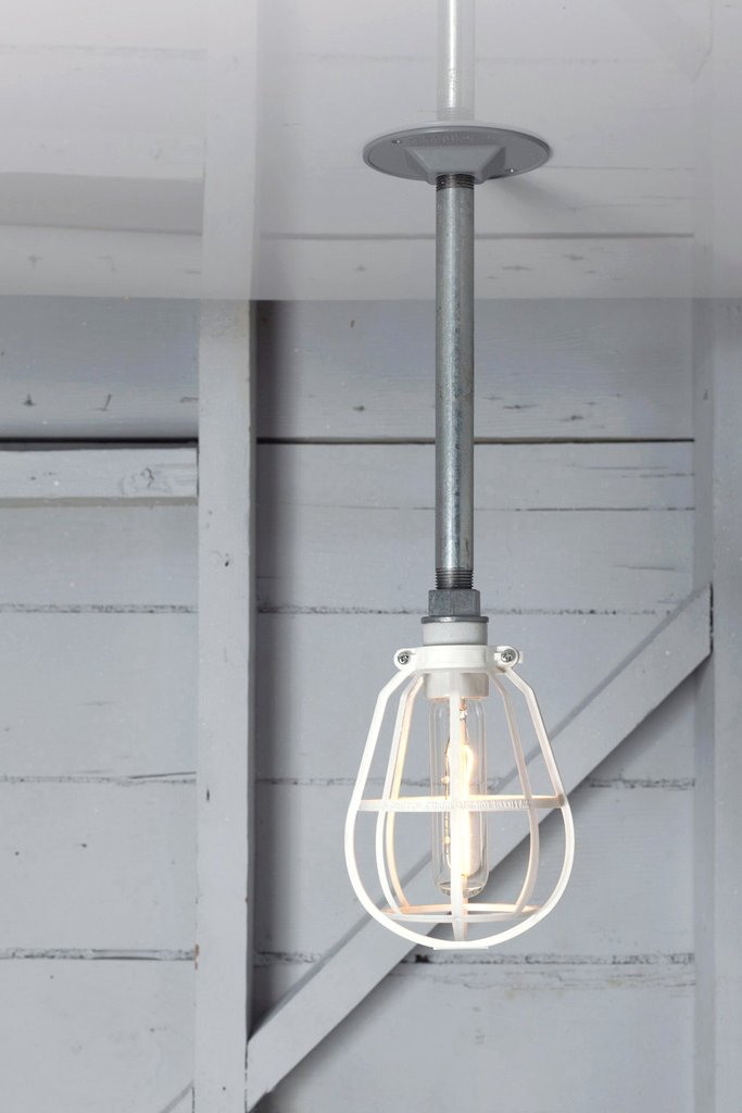 PENDANT CAGE PIPE LIGHT