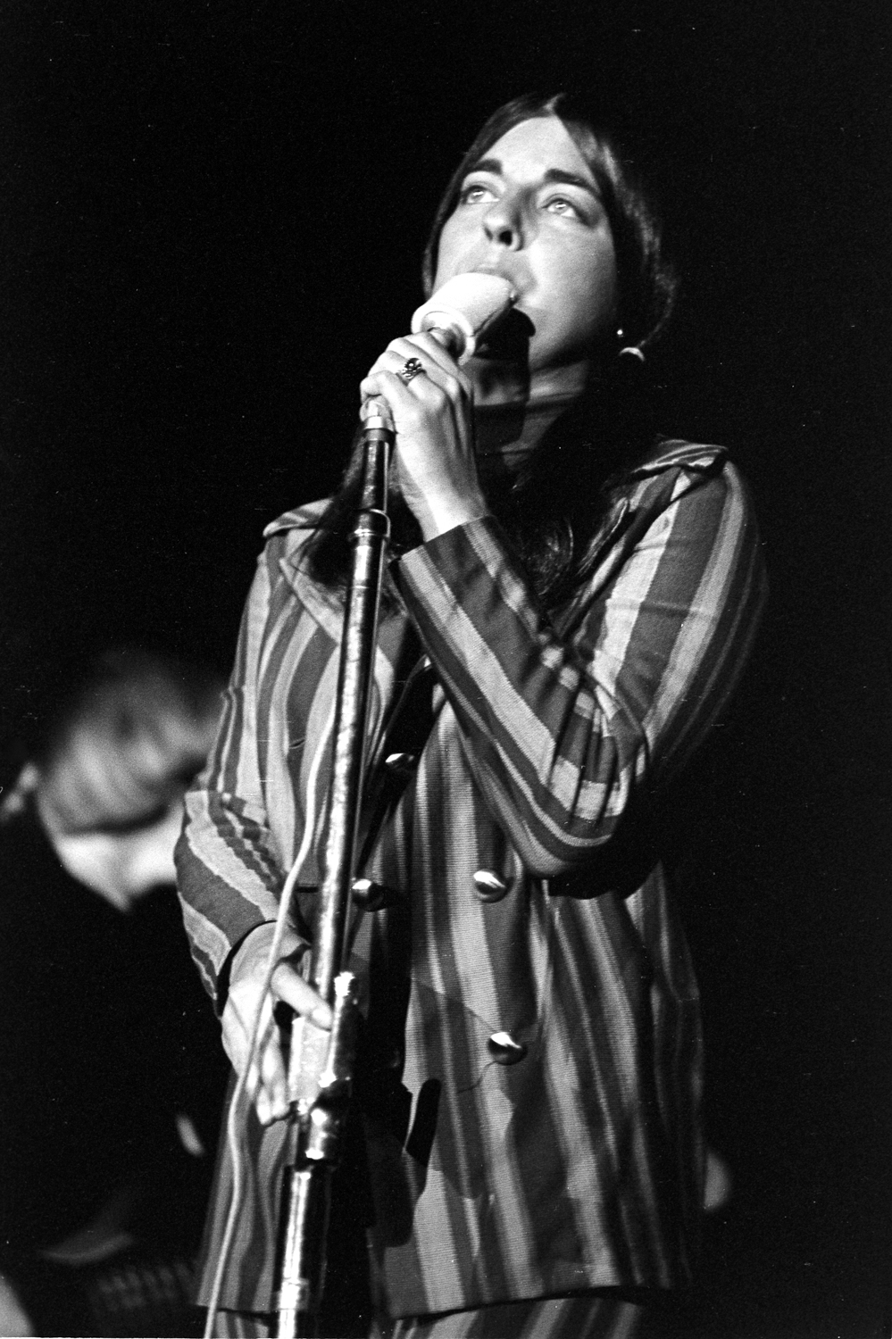 Signe Anderson fronting the Jefferson Airplane at Stanford University, 1966