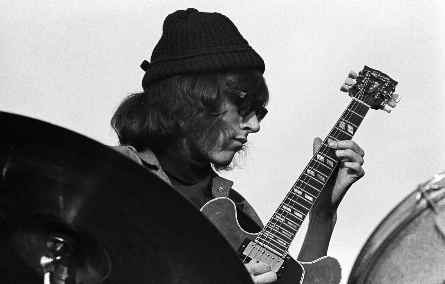 Jorma Kaukonen at the Human Be-In, San Francisco, 1967