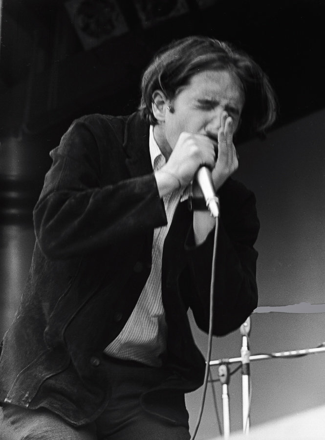 Paul Butterfield leading his Butterfield Blues Band at Monterey Pops