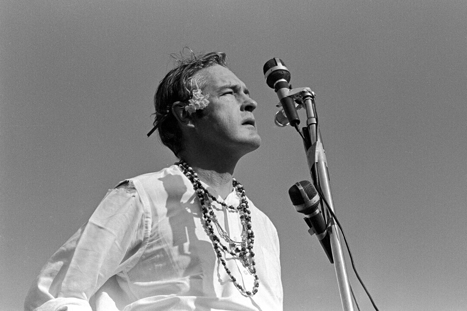 Timothy Leary  advocated turning on, tuning in and dropping out. He had come a long way from his days as a professor at UC Berkeley and as a lecturer at Harvard.