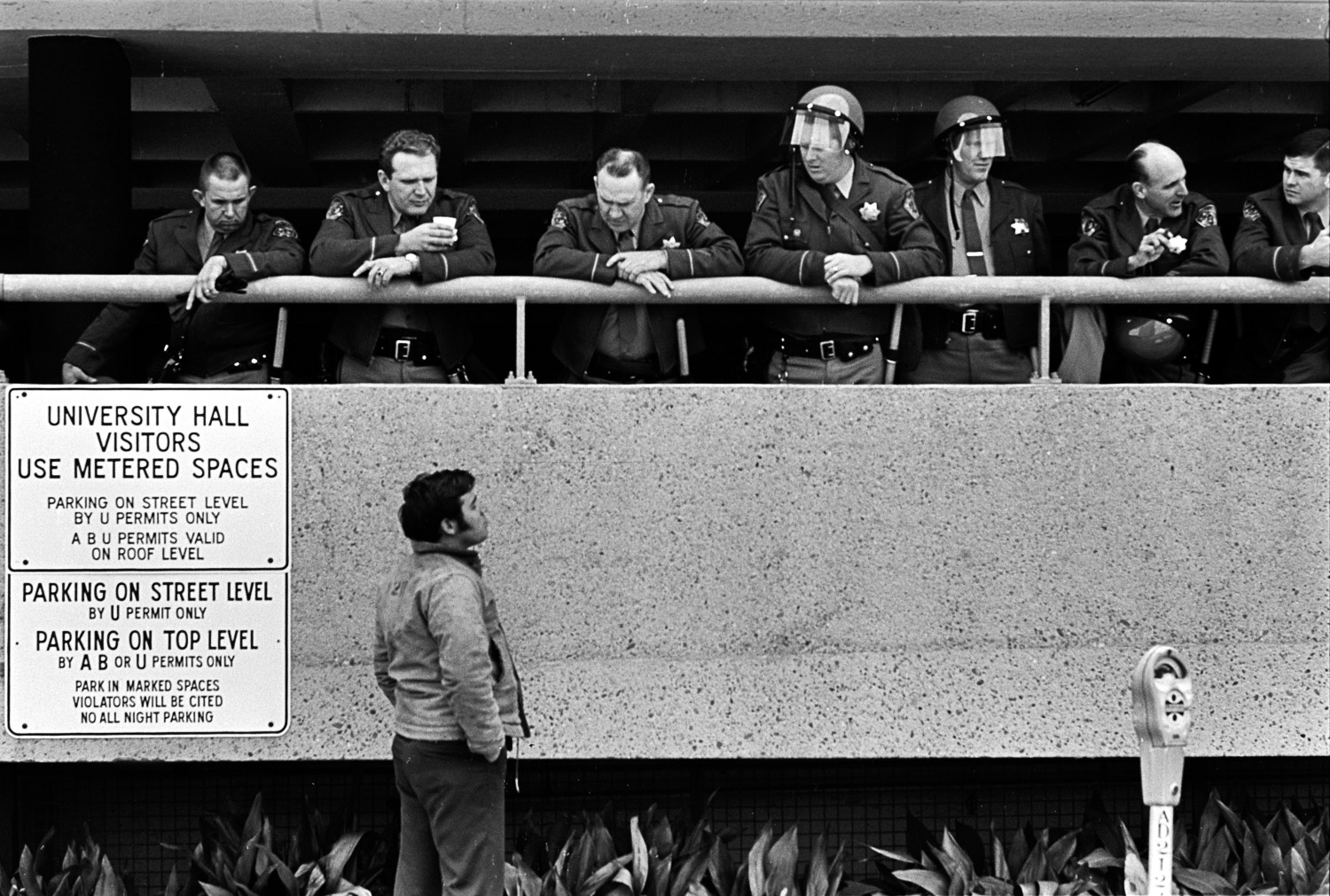 Berkeley police were accustomed to calmer moments, when conversations with the public were easy going