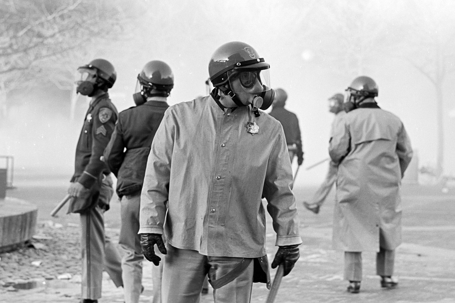 Berkeley police learned it's hard to catch who you're chasing after you've pumped tear gas everywhere.