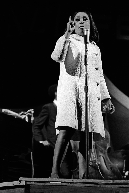 Carmen McRae at the Monterey Jazz Festival