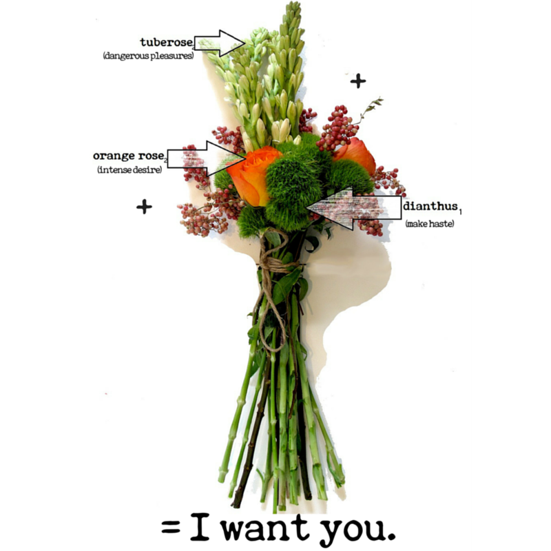 flower meanings for rose, tuberose and dianthus