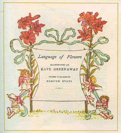 During the Victorian Era, Language of Flowers dictionaries were common and used on a regular basis.