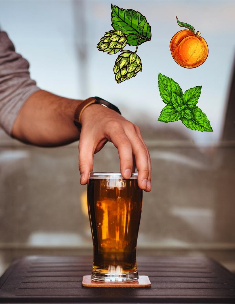 SF Beer Week Floral Beer Map