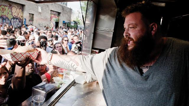 Action Bronson - rapper and host of Viceland's  Fuck, That's Delicious . (Photo: VICE Eats - Vice Media LLC)