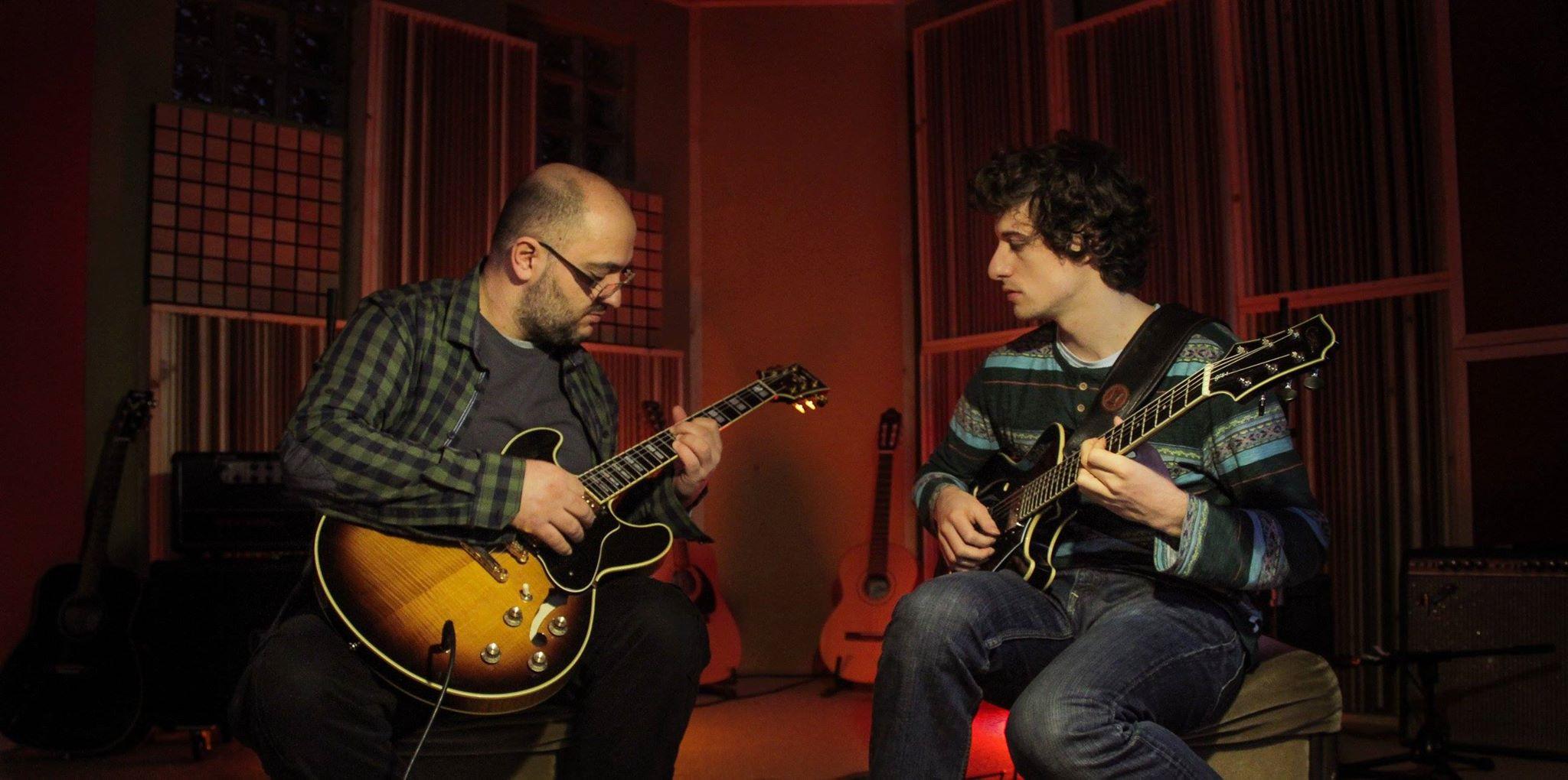 Duo with Balkan Jazz Master Armend Xhaferi 2013