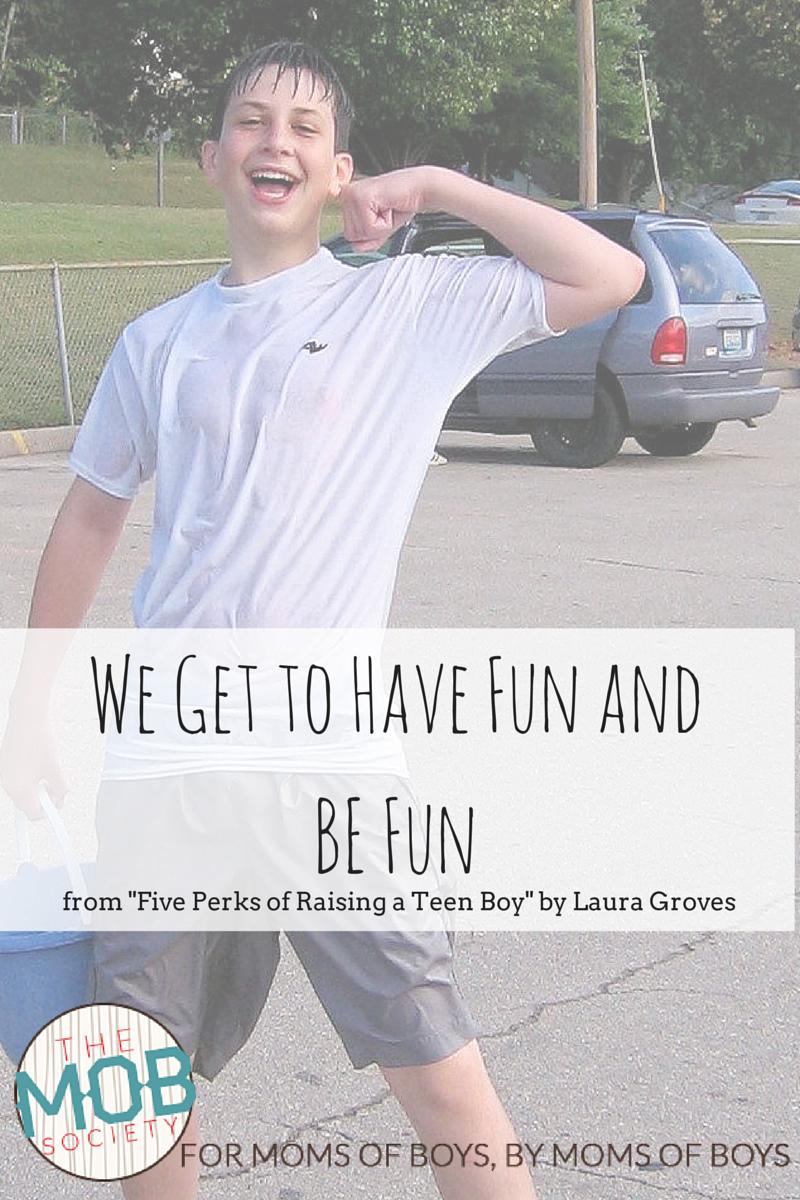 Five Perks of Raising A Teen Boy