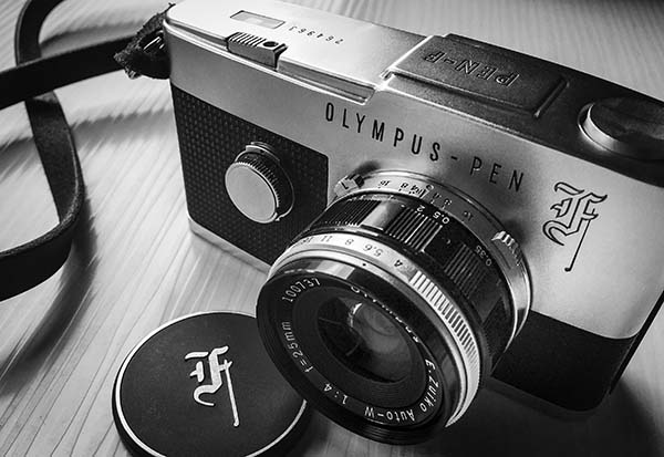 My venerable 1969 Olympus Pen-F