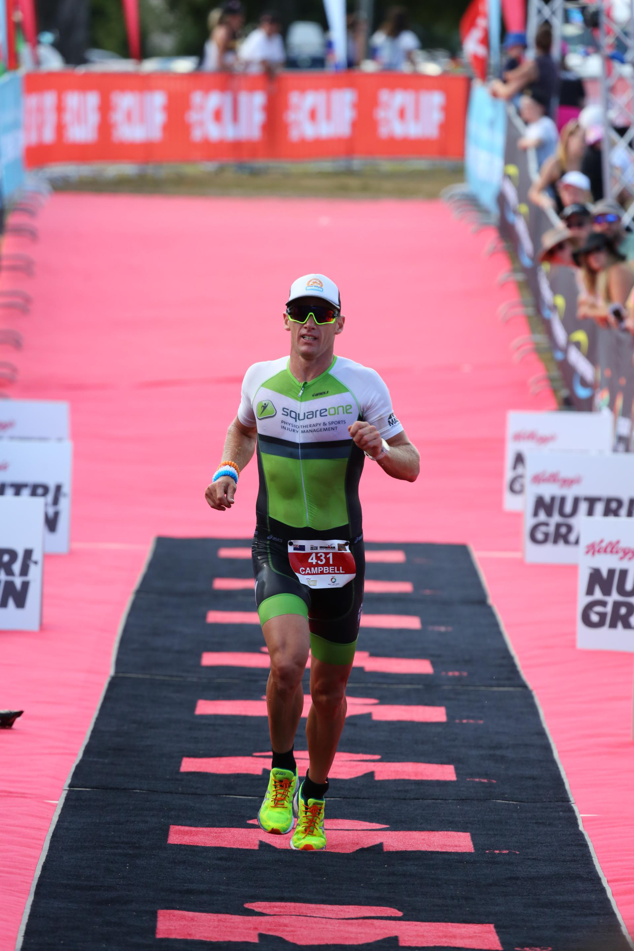CAMPBELL HANSON     Name:  Campbell Hanson  Age group:  40-44  Race or program you qualified through:    Western Sydney 70.3  Have you been to any triathlon world champs before (any distance)?     If so, which ones/years?    70.3 WC Las Vegas 2012, ITU Olympic Distance WC Auckland 2012, Ironman World Champs Kona 2013. Last century I qualified for 2 ITU Junior World Champs in Cancun (1995) and Clevelend (1996) but didn't go. Yes, last century!    What are you most looking forwards to about the race and over course of the weekend?  Cashing in on all the training deposits that have been banked lately! Catching up with friends and seeing how I stack up against the rest of the field.    What has been your strategy to survive training through Australian winter?    switching to an indoor swimming squad has been much better and more enjoyable.    What have been the key focus points in your training and preparation for the world champs?    Recovery!! Making sure the recovery, sleep quality and some Yoga at home has been a big focus for me. Ironman NZ back in March I went in under recovered and fatigued and paid for it. Slightlyess volume but more quality and better execution within sessions has also been a focus. Keeping a closer watch on my training stress balance scores as another means of monitoring has also helped.    Have you heard about the infamous hill on the bike course with rumours of up to a 30% gradient? What is your strategy to make it up in one piece?    Heard about the hill! Strategy has been to put a 28 on the back so the quads don't blow out and then just chill when riding up it. Let the hammerheads go if anyone really feels they feel the need to race the hill clim    Do you have any goals for the race?    stick to my race plan and run well off the bike. If I do this I'll have a good race.    Sunny Coast marks the start of the Australian triathlon season; what are your plans for the rest of the season?      2nd part of Porject 2016 - Kona 5 weeks later. Training has been built around this so will be a little underdone on the speed side of things for Sunny Coast but it's a perfect pre Kona hit out and a great chance to race a WC in Australia so I'll be doing a short taper and having a good crack on the day. I'll recover well post race and put in a couple of weeks hard work before heading to the Big Island. I haven't thought too far past October 8!    What kit will your be wearing?    SquareOne race suit    What bike will you be riding?    my new S Works Shiv- thanks Manly Cycles and Specialized Australia for the support.