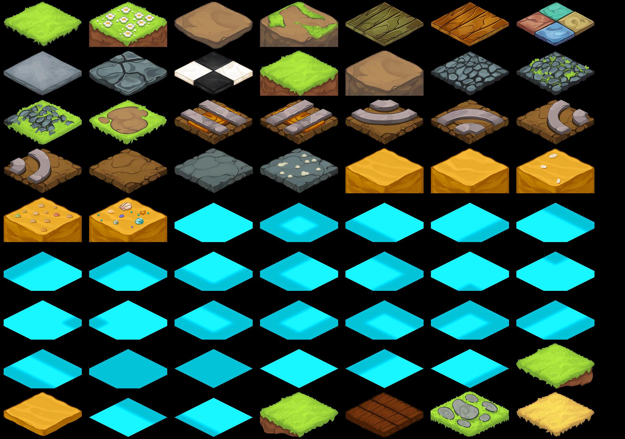 Beast Bound: Tile Set