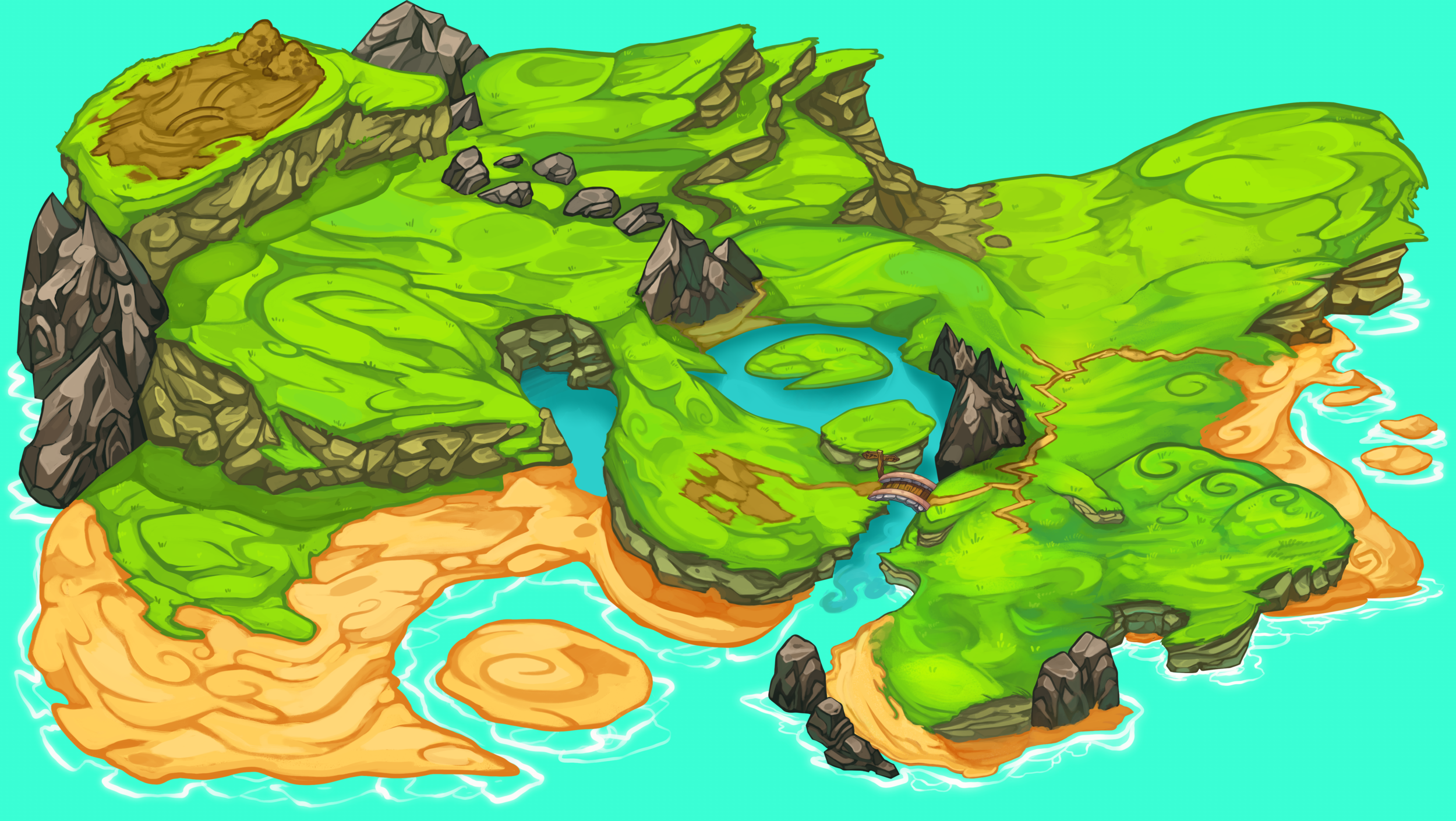 Beast Bound: World Map