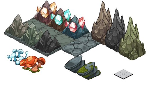 Beast Bound: Cave Assets