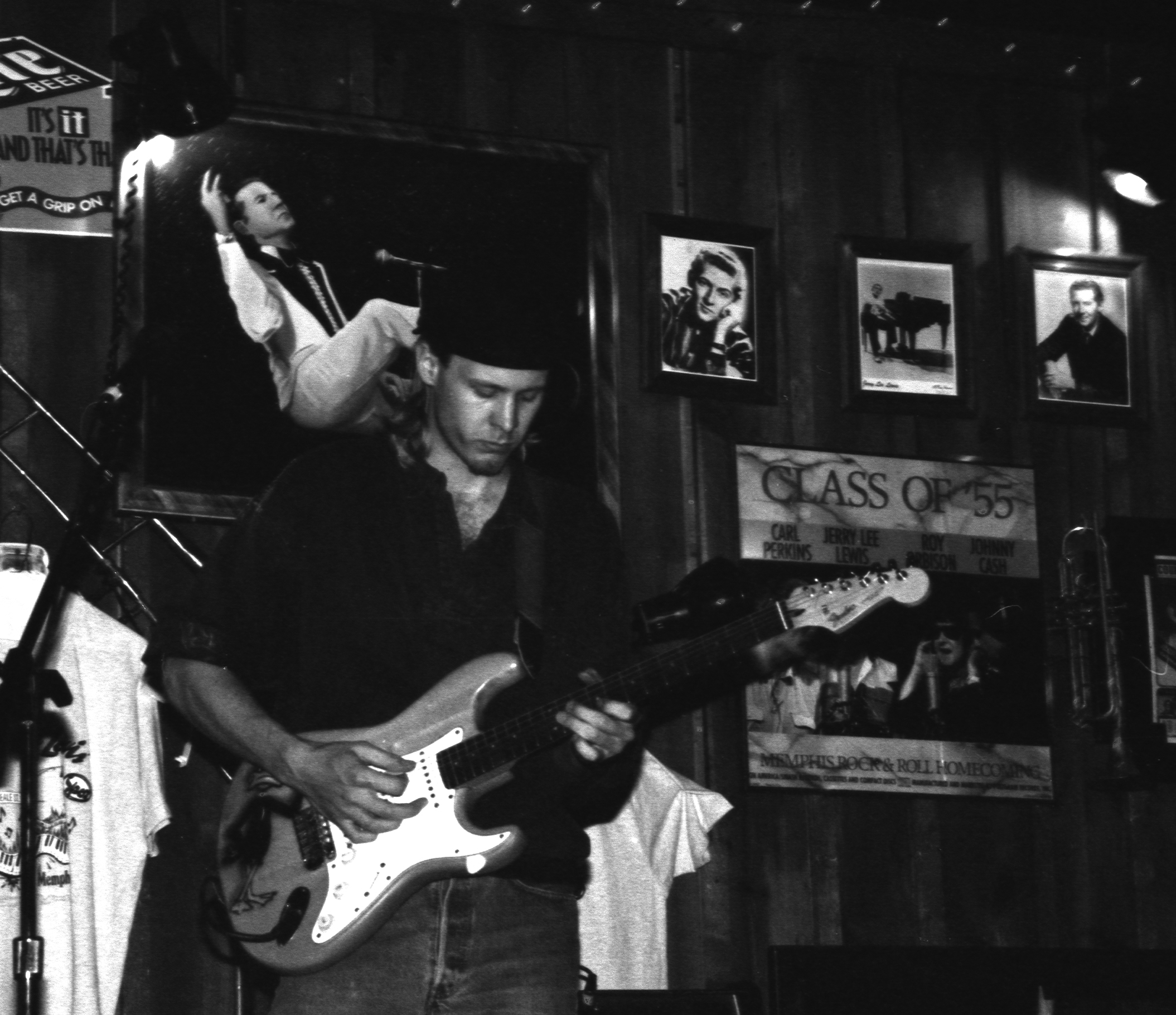 Live at Jerry Lee Lewis's club on Beale Street in Memphis circa 1995 or so.