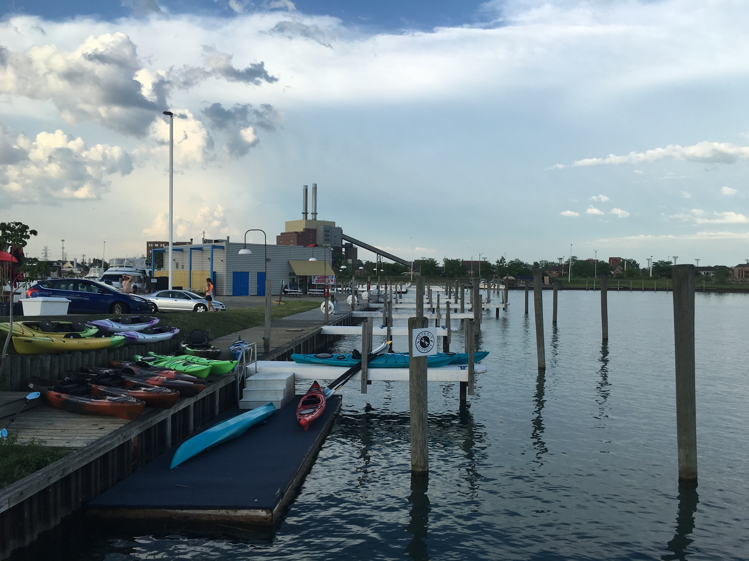 kayak launch and dock store