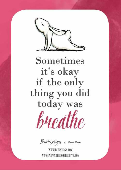 yoga bunny inspiration cards