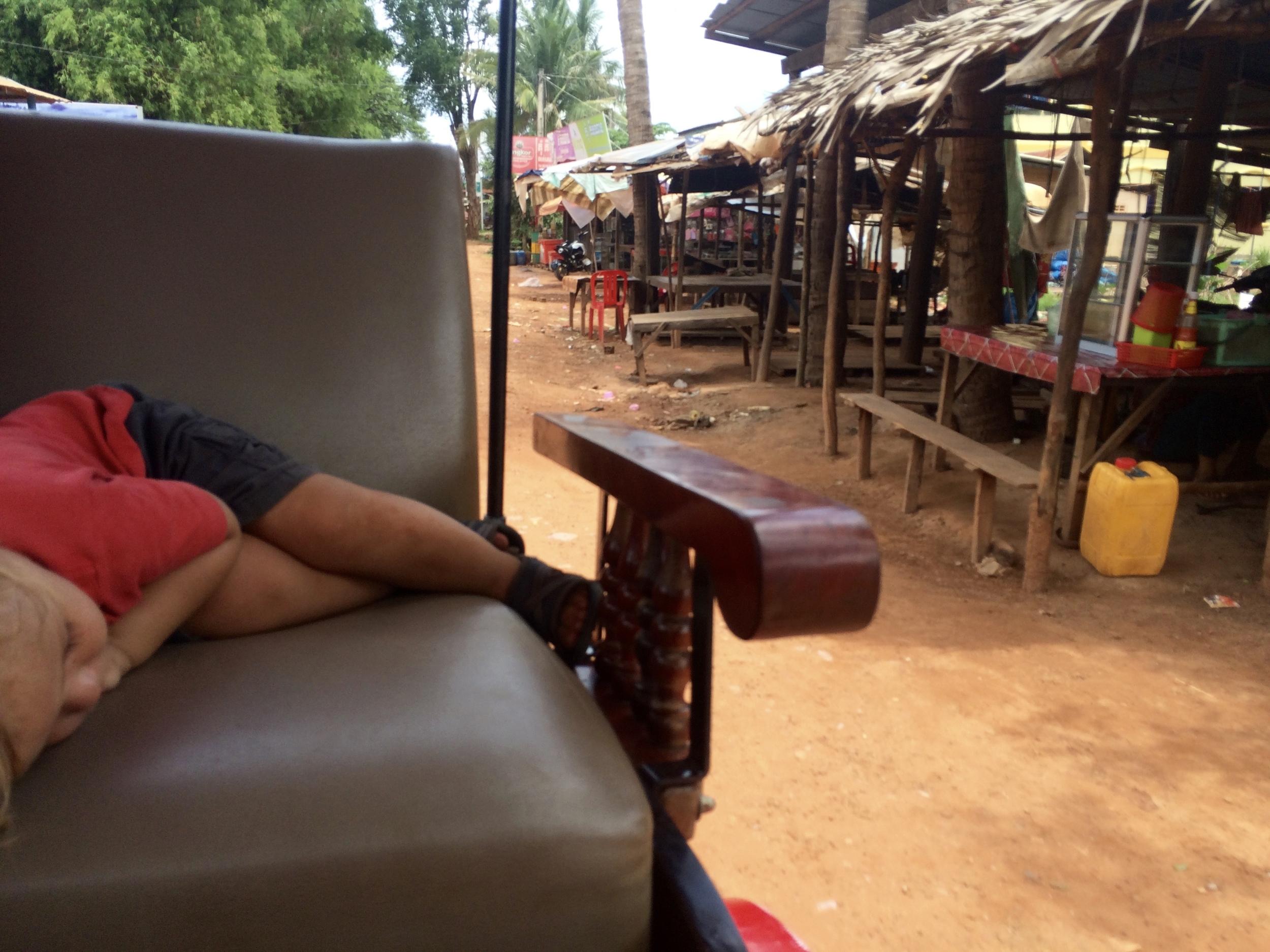 Look at CUTE Hugo asleep.