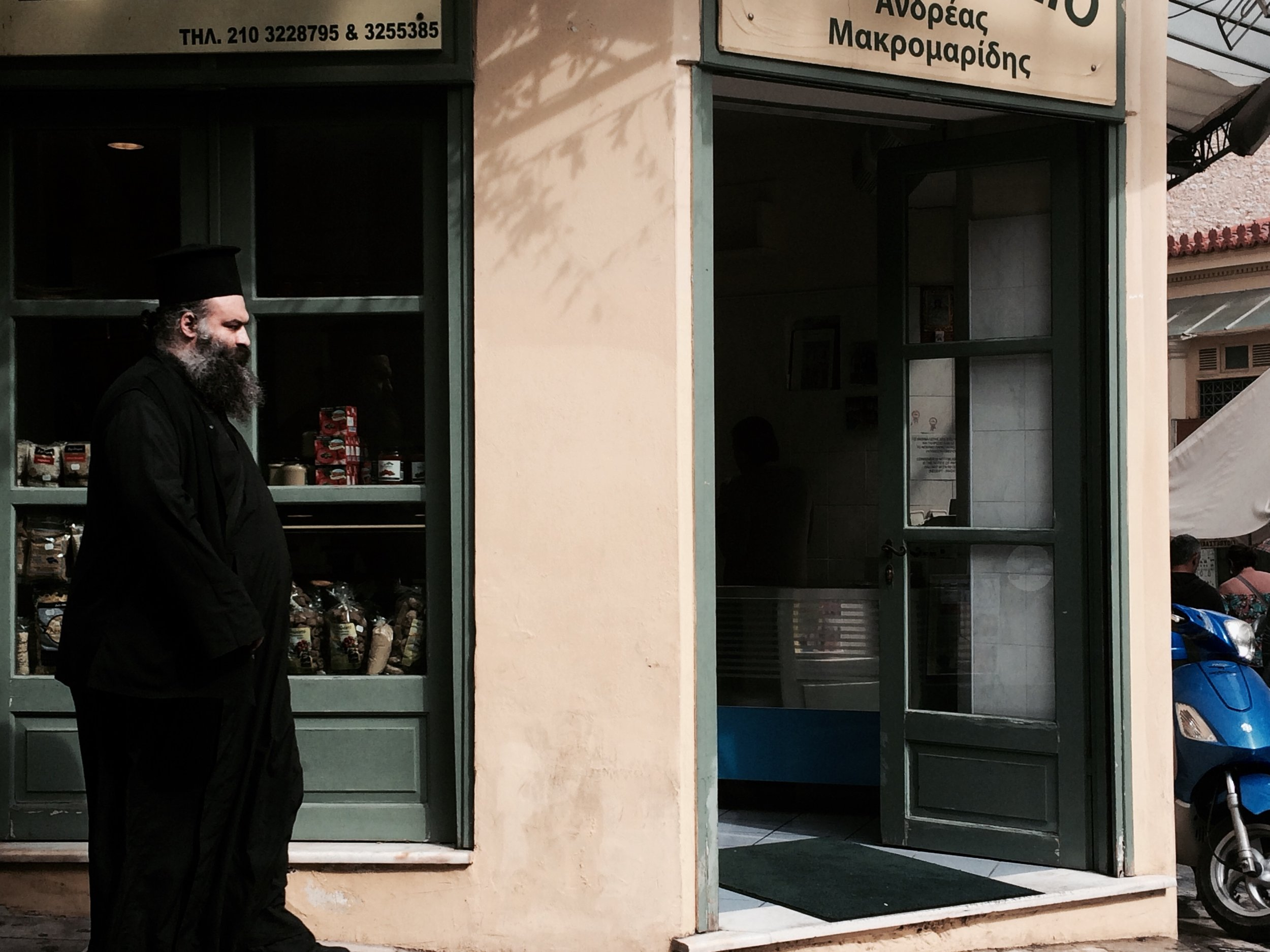 lots of people are Greek Orthodox what follow Jesus. This is a priest.