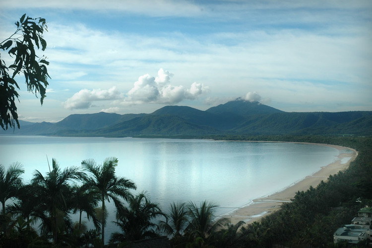 beautiful fourmile beach, only a few minutes walk away