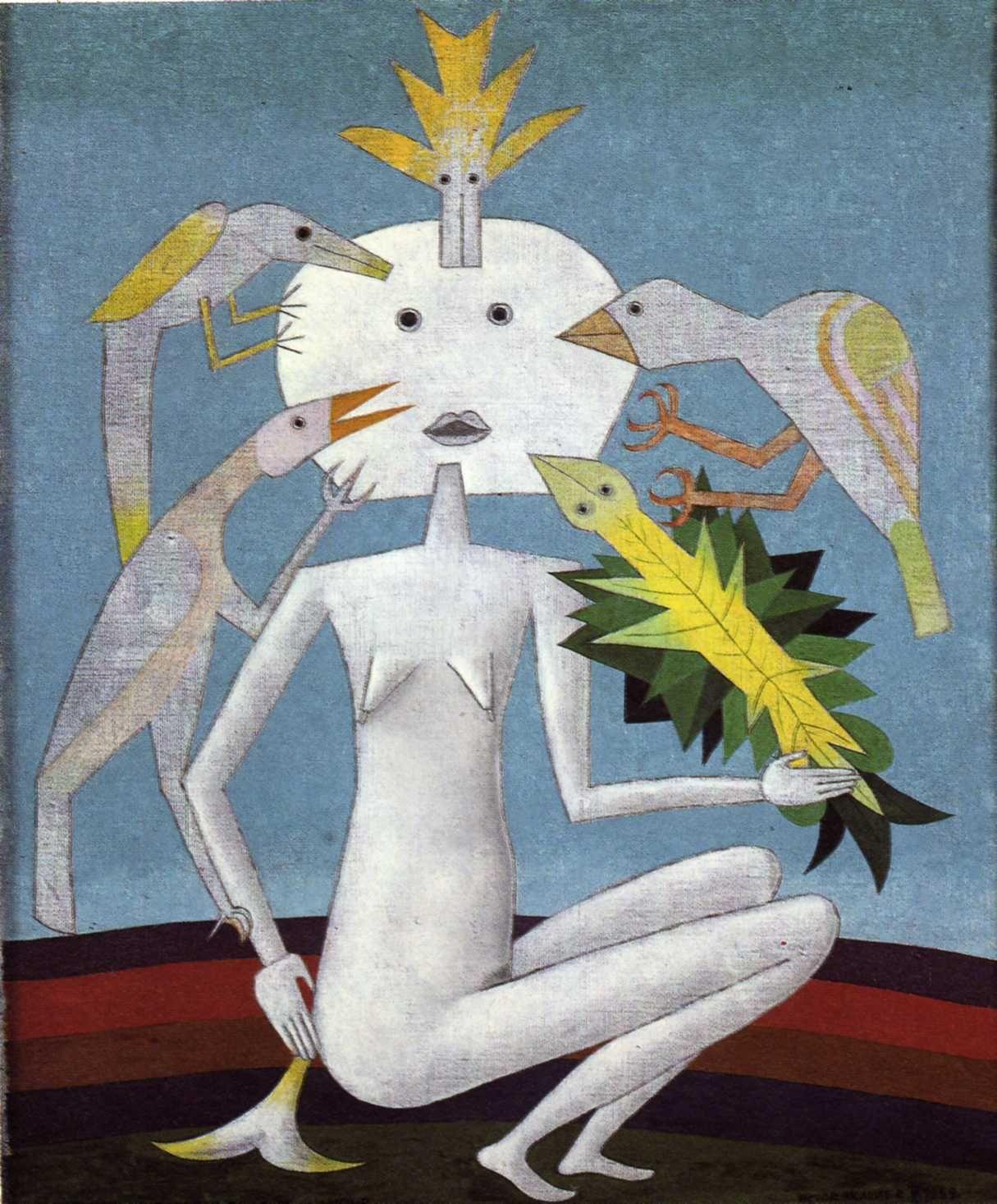 Victor Brauner Subjectivité impersonelle de l'amour 1959.jpg