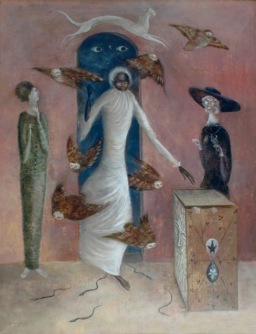 Annunciation - Leonora Carrington.jpg