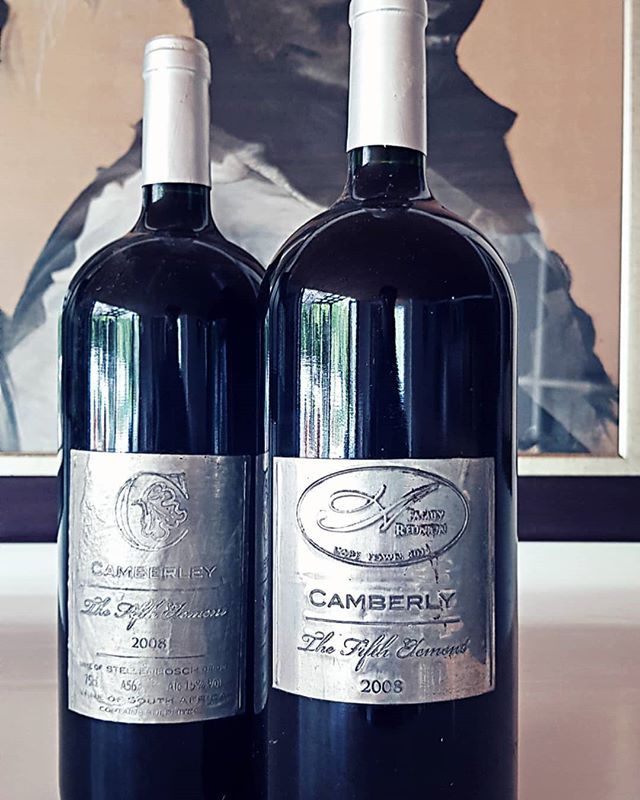 Limited Edition 5th Element. . . . #camberlwines #camberley #5thelement #limitededition #wine #redwine #cabernetsauvignon #vintage