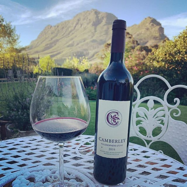"""""""The second bottle always tastes better than the first."""" Johnny Nel . . . #camberlwines #camberley #philosophersstone #redwine #red #stellenbosch #quote"""