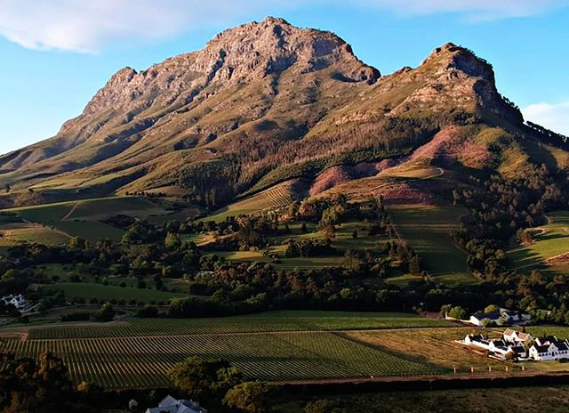 The Simonsberg in all its glory. . . . #camberlwines #camberley #stellenbosch #winefarm #photography #mountains #vineyards #redwine