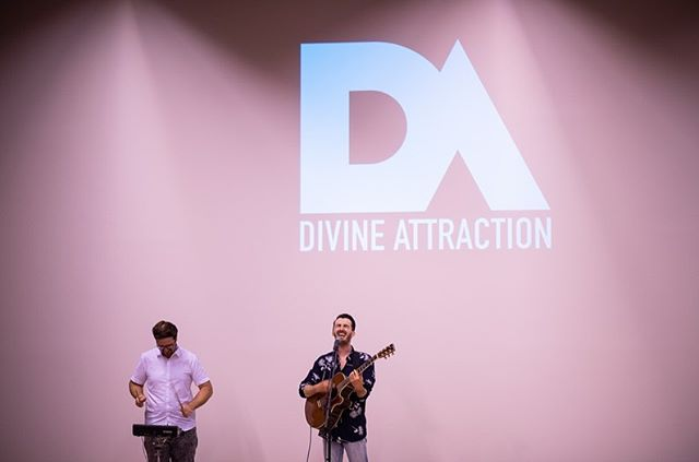 We had an awesome time last night at the premier party for our new music video for the song Take You Anyway. We got to thank all the amazing people who helped make this video possible. We shared food together, had good conversations, played some songs, and watched the new video! Can't wait for you all to see it TODAY! Stay tuned. #divineattraction #takeyouanyway #videopremiere #platoostrava 📷 @bearded_zavorka