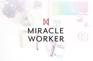 It all started with Gala Darling and Ellen Fondiler's Miracle Worker career-enhancement course. I recommend.