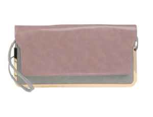 yoox.com volum handbag $27.00   Colors:  Mauve, Grey  Tone:  Warm and Cool