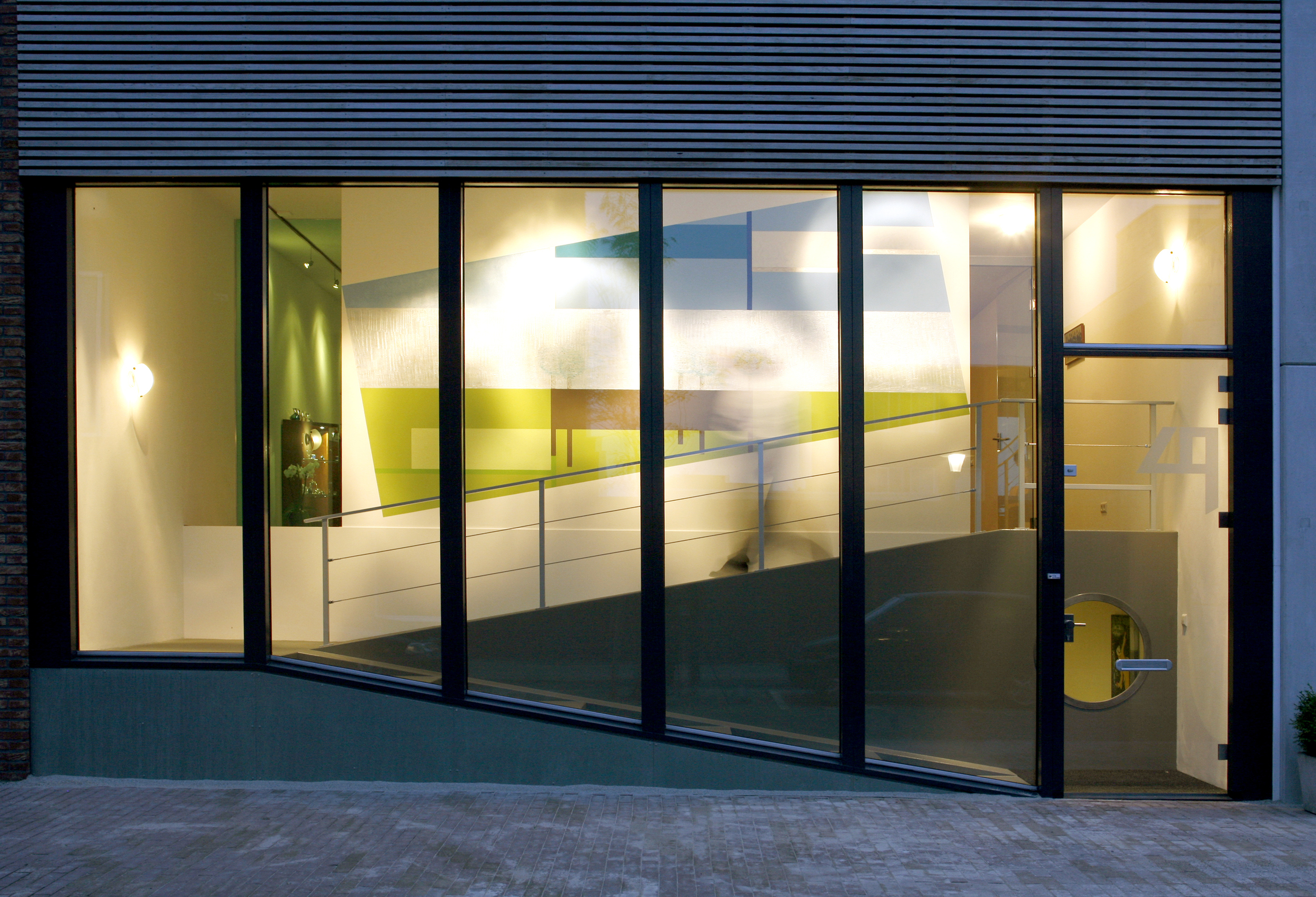 Quay house in Woerden, the Netherlands.  Completed 2009