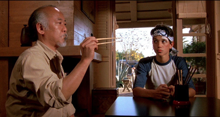 More mentorship, less Miyagi. Although I am a fan of Miyagi on the real.
