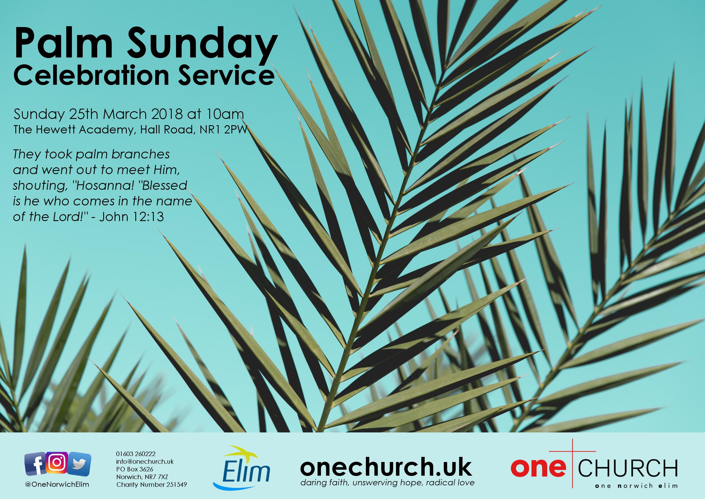 Palm Sunday Norwich