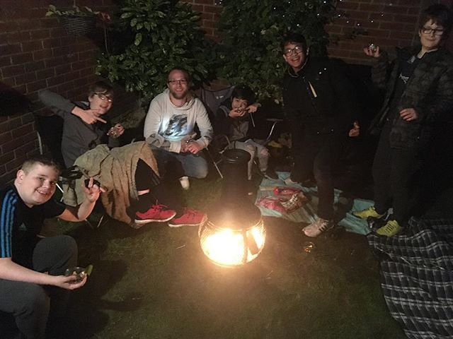 Awesome night making s'mores last night! #oneyouthnorwich #oneyouthnorwichfridaynights #makingsmores